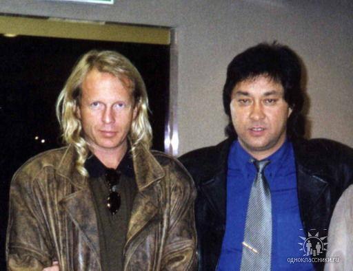 Борис Тохтахунов и Крис Кельми