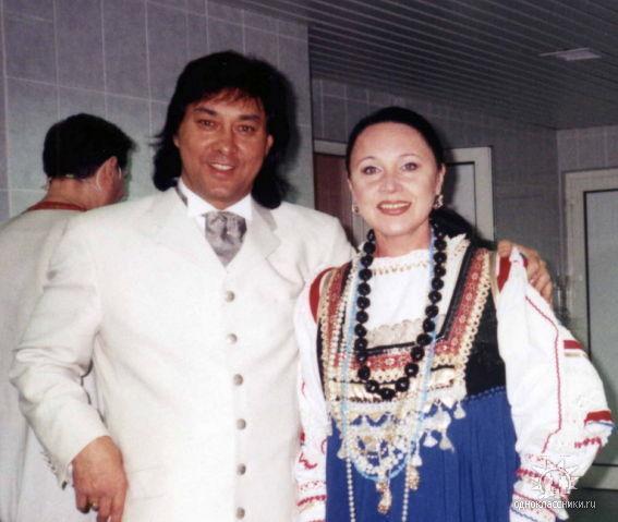 Борис Тохтахунов и Надежда Бабкина