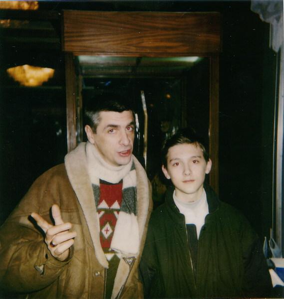 отец и сын (Сергей Коржуков и Артём Коржуков)