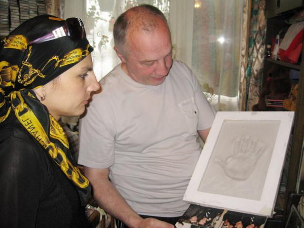 Анна Ниткина (г. Иваново)и В. Окунев. Подарок Владимира Лисицына к юбилею Музея шансона
