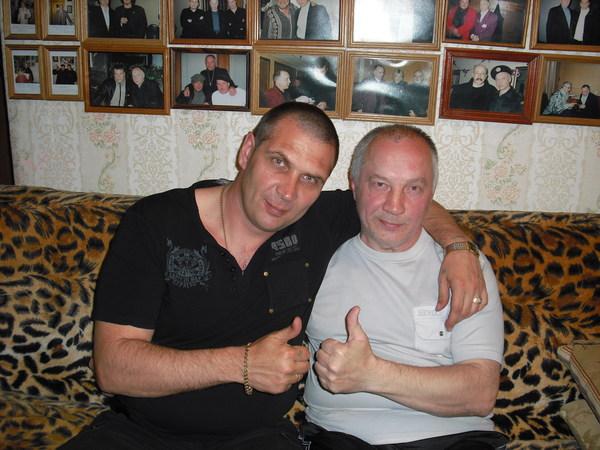 Олег Андрианов и В. Окунев