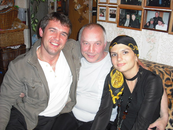 Сергей Краснов (г. Иваново) В. Окунев (Санкт-Петербург) и Анна Ниткина (г. Иваново)