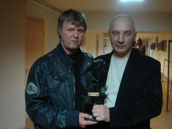 Е. Куневич (Таллинн, Эстония) и В. Окунев (Санкт-Петербург, Россия)