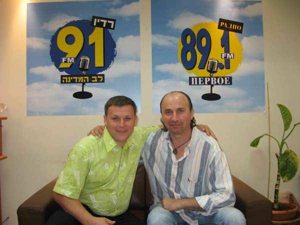 Юрий Белоусов и Влад Зерницкий