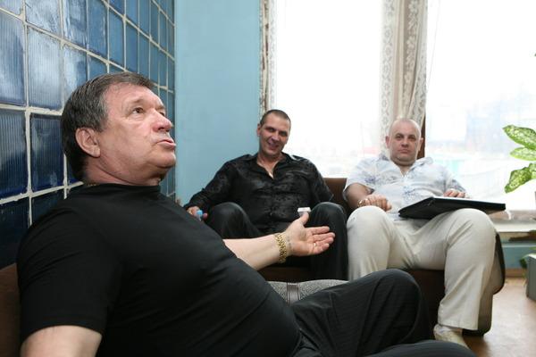 Сергей Чернышов, Олег Андрианов, Владимир Белозир