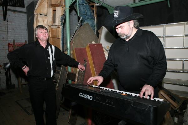 Евгений Куневич и Виталий Соловьёв