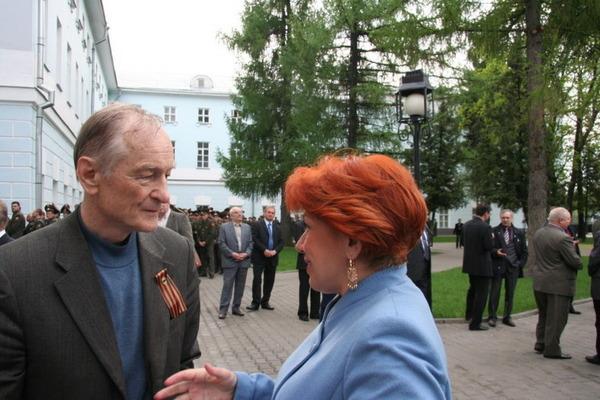 Михаил Ножкин и Светлана Медведева