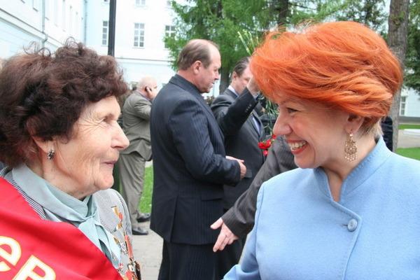 Светлана Медведева и союз Г. героев СНГ