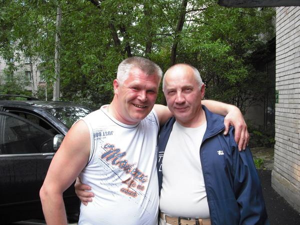 Саша Адмирал и Владимир Окунев