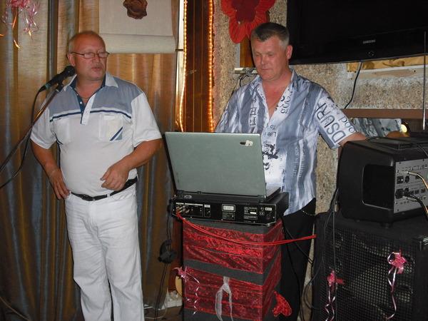 Павел Савельев и Саша Адмирал