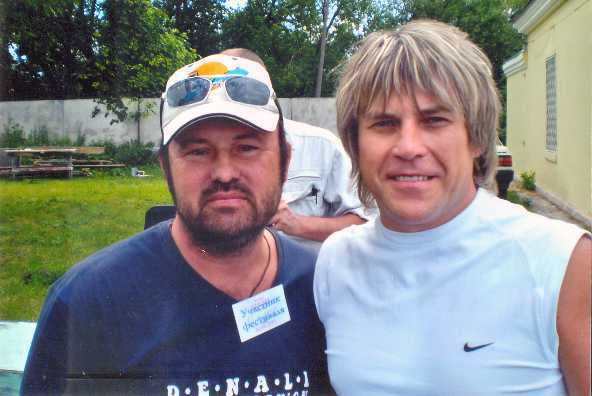 Алексей Созонов и Алексей Глызин