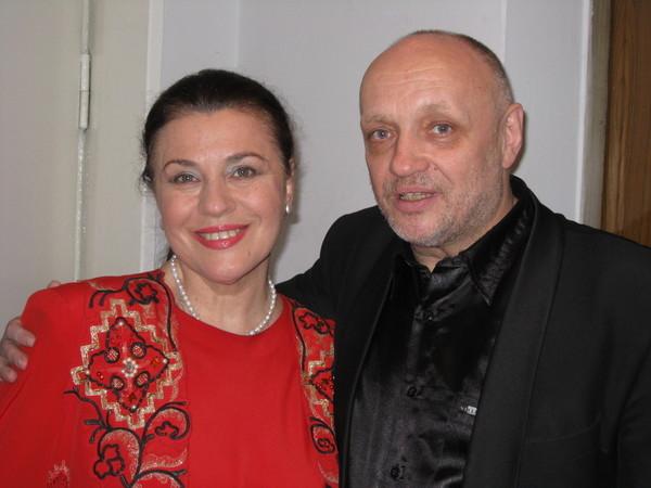 Анатолий Тукиш и Валентина Толкунова