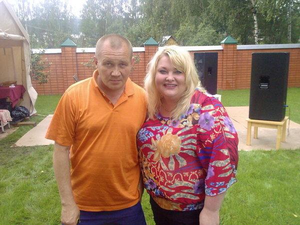 Олег Симонов и Ляля Размахова