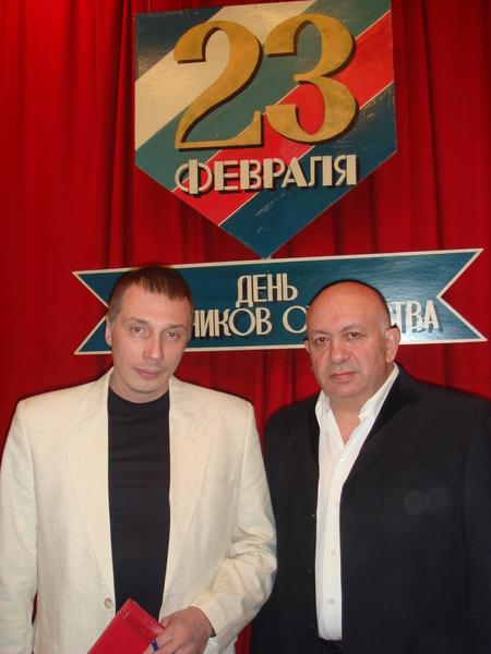 Илья Модестов и Зиновий Бельский