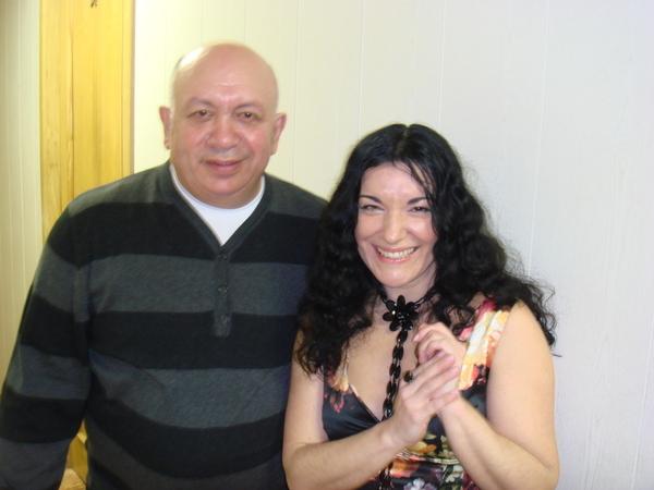 Зиновий Бельский и Лала Хопер