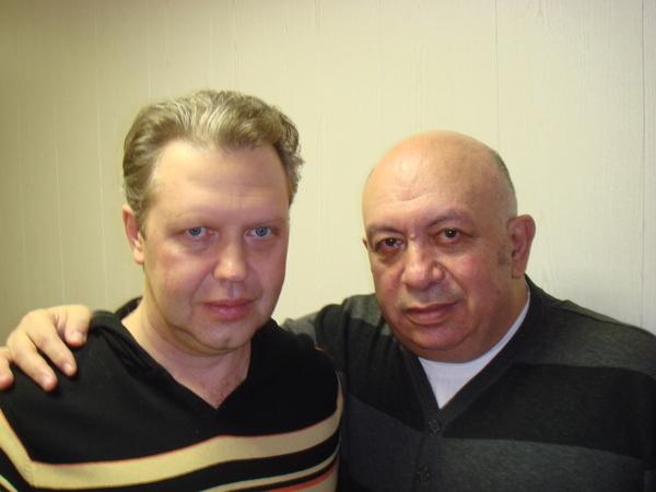 Сергей Князев и Зиновий Бельский