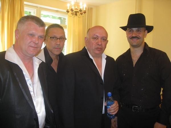 Саша Адмирал, Андрей Егоров, Зиновий Бельский и Ростислав Поспелов