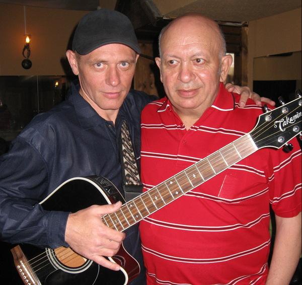 Андрей Заря и композитор Зиновий Бельский