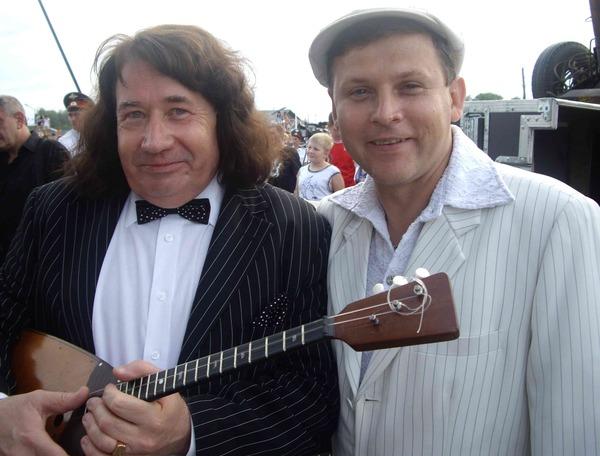 Степан Мезенцев и Ю. Белоусов