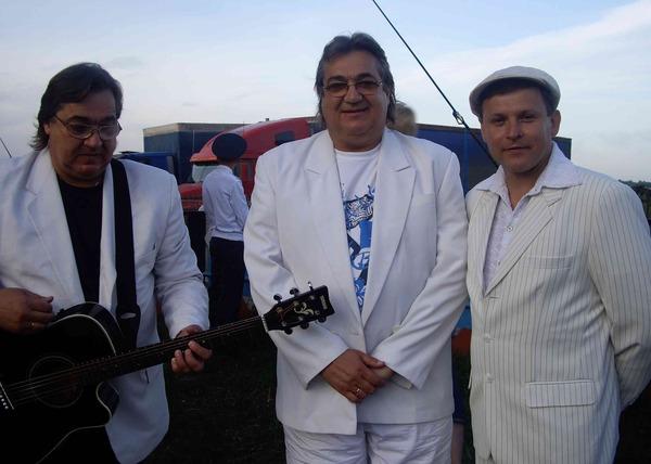 братья Радченко и Ю. Белоусов