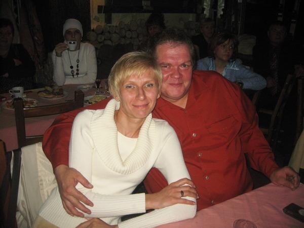 Олег Баянов с супругой (г. Иваново)