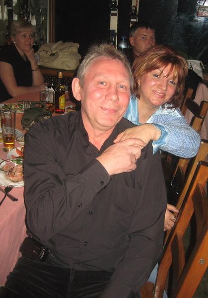 Михаил Грубов с супругой Светланой