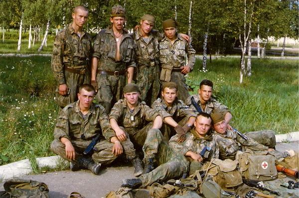 1994 г. До первой Чечни - четыре месяца. Все ещё живы...