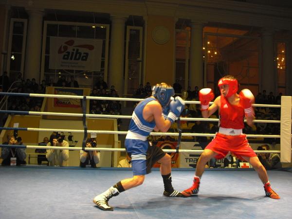 первый бой турнира