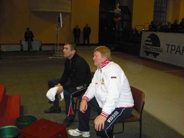 тренеры И. Каюмова