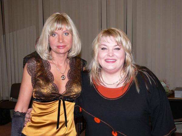 Катеринана Голицына и Ляля Размахова