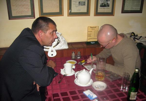 Олег Андрианов и Владимир Шиленский