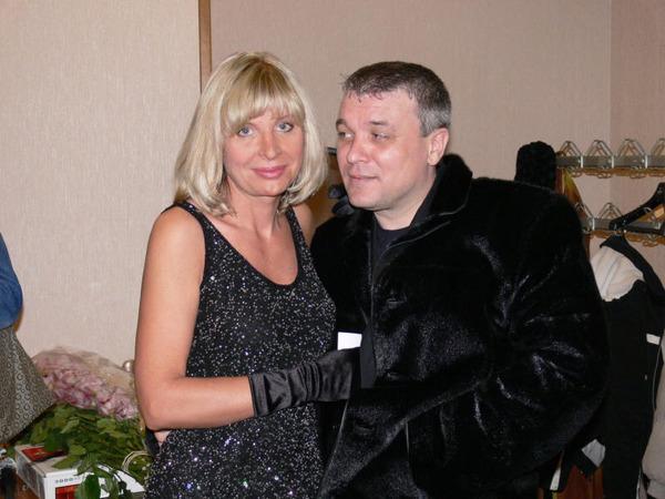 А. Дюмин и К. Голицына