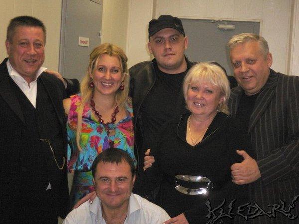 после концерта в Красноярске