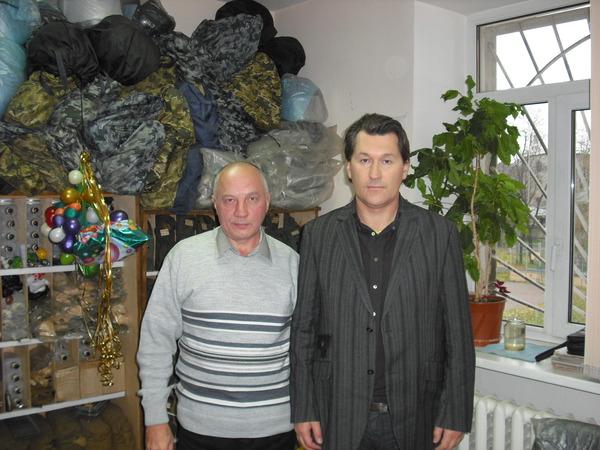 Владимир Окунев и Владимир Черняков