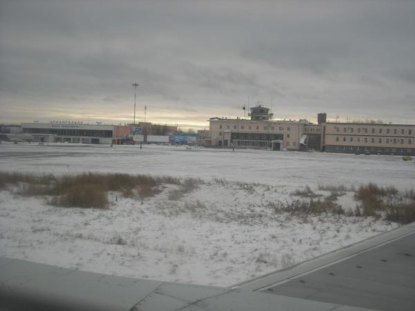 в Архангельске -7 градусов мороза