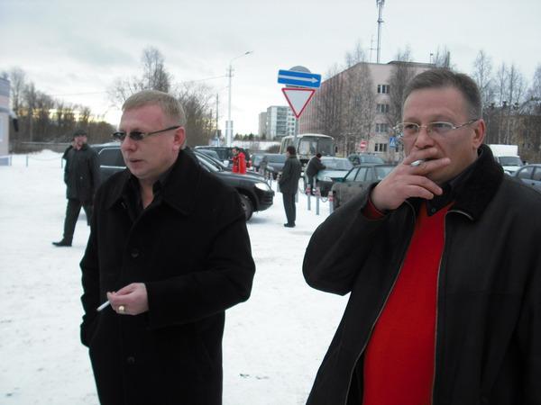 Владимир Двинской и Андрей Большеохтинский