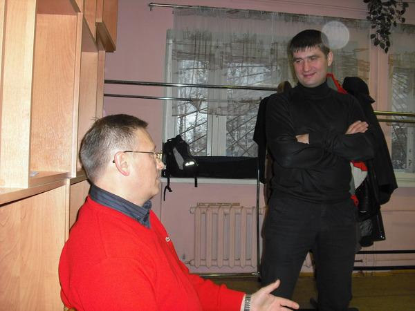 Андрей Большеохтинский и Павел Ростов