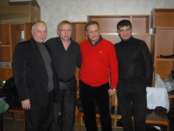 Владимир Окунев, Аладимир Двинской, Андрей Большеохтинский, Павел Ростов