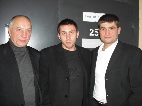 Владимир Окунев, Алексей Хорьков, Павел Ростов