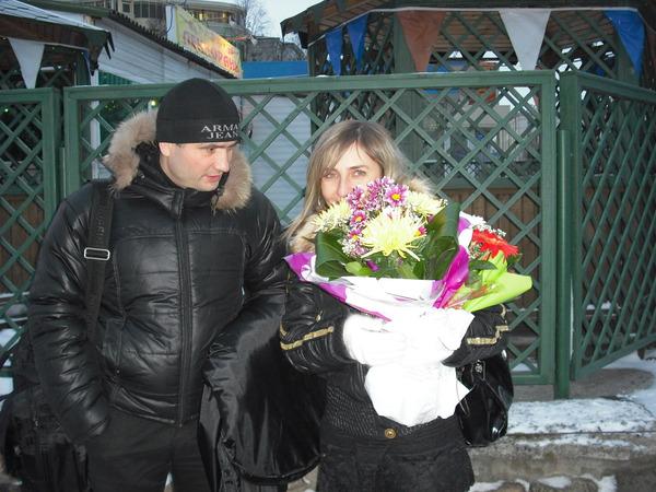 Павел Ростов с супругой