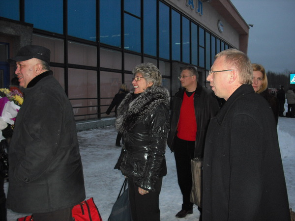и снова аэропорт г. Архангельска