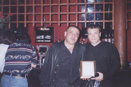 Спартак Арутюнян и Александр Дюмин