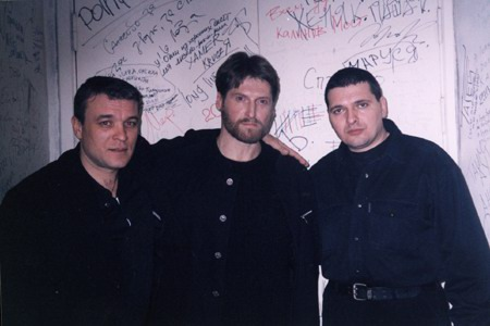 Александр Дюмин, Никита Джигурда и Александр Звинцов