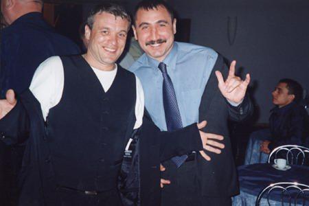 Александр Дюмин и олимпийский чемпион по боксу, ст. тренер сборной России Александр Лебзяк