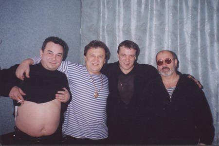 Федя Карманов, Анатолий Полотно, Александр Дюмин, Владимир Асмолов
