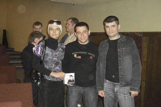 """Анна Ниткина, Павел Павлецов, Павел Ростов. г. Иваново - 2009 г. фестиваль """"Чёрная роза""""."""