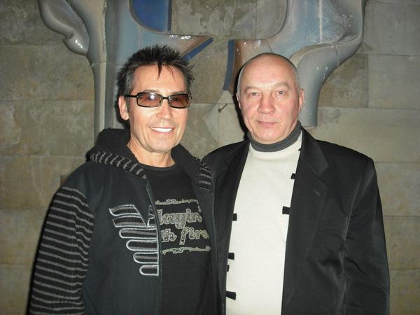 с Владимиром Окуневым