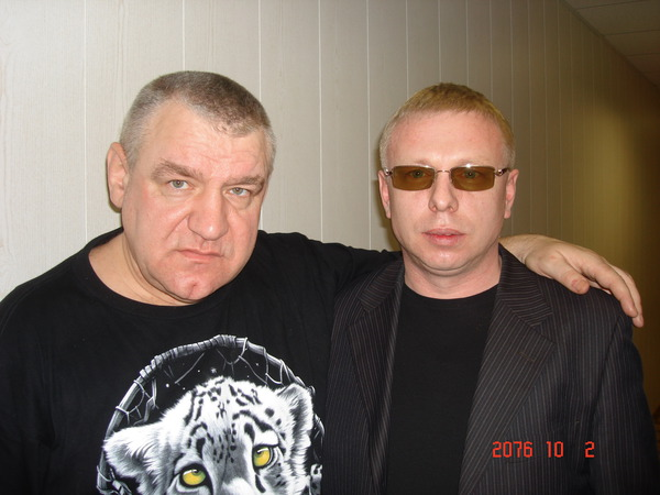 Владимир Козырев (Крестовый Туз) и Владимир Двинской