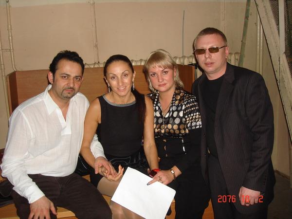 В. Ашуров, Афина, Ю. Федорина, В. Двинской