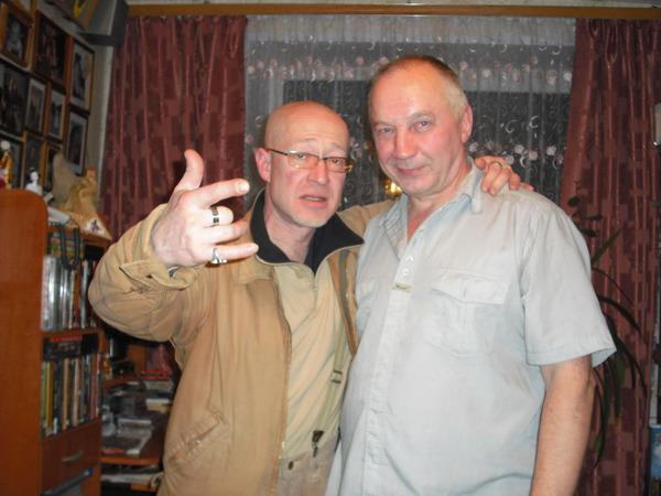 Владимир Шиленский и В. Окунев